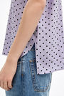 Fluid lilac Dots shirt