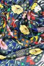 Grey Naïf garden scarf