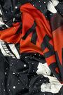 Astronauts scarf black background