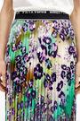 Cosmic-Garden pleated skirt