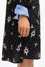 Black Pop-Stars midi shirt dress