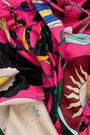 Fuchsia lucky scarf