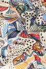 Ivory birds shawl